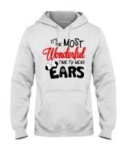 Time To Wear Ears Hooded Sweatshirt thumbnail