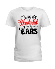 Time To Wear Ears Ladies T-Shirt thumbnail