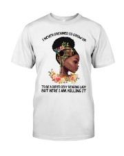 Black Girl Loves Books Classic T-Shirt tile