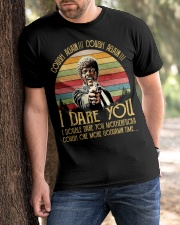 Cough Again I Dare You Classic T-Shirt apparel-classic-tshirt-lifestyle-front-51