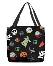 Nightmare Characters All-Over Tote tile