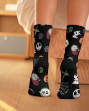 Nightmare Characters Crew Length Socks aos-accessory-crew-length-socks-lifestyle-back-01