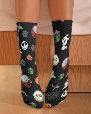 Nightmare Characters Crew Length Socks aos-accessory-crew-length-socks-lifestyle-front-02