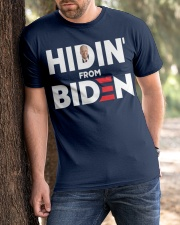 Hidin' From Biden Classic T-Shirt apparel-classic-tshirt-lifestyle-front-51