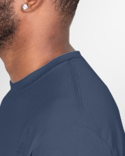 Hidin' From Biden Classic T-Shirt garment-tshirt-unisex-detail-right-sewing-01