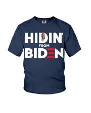 Hidin' From Biden Youth T-Shirt thumbnail