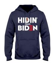 Hidin' From Biden Hooded Sweatshirt thumbnail
