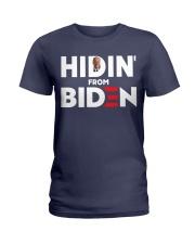 Hidin' From Biden Ladies T-Shirt thumbnail