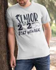 Senior 2020 Getting Real Classic T-Shirt apparel-classic-tshirt-lifestyle-front-51