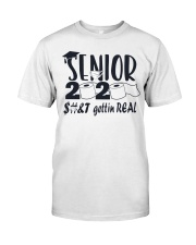 Senior 2020 Getting Real Classic T-Shirt front