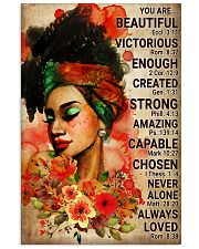 Black Beautiful Girl Poster 24x36 Poster front