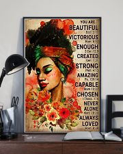 Black Beautiful Girl Poster 24x36 Poster lifestyle-poster-2