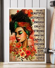 Black Beautiful Girl Poster 24x36 Poster lifestyle-poster-4