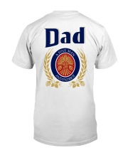 Dad A Fine Woman Classic T-Shirt back