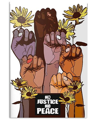 No Justice No Peace Poster