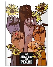 No Justice No Peace Poster 24x36 Poster front