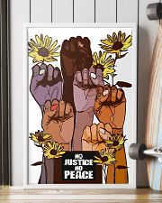 No Justice No Peace Poster 24x36 Poster lifestyle-poster-4