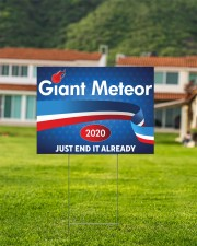 Giant Meteor Yard Sign 24x18 Yard Sign aos-yard-sign-24x18-lifestyle-front-03