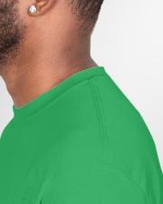 Coronavirish Classic T-Shirt garment-tshirt-unisex-detail-right-sewing-01