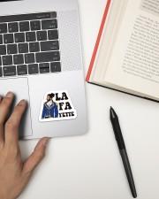 The La Fa Sticker Sticker - Single (Vertical) aos-sticker-single-vertical-lifestyle-front-12