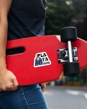 The La Fa Sticker Sticker - Single (Vertical) aos-sticker-single-vertical-lifestyle-front-21