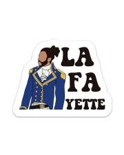 The La Fa Sticker Sticker - Single (Vertical) front