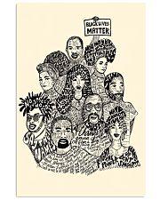 Black Lives Matter Poster 24x36 Poster front