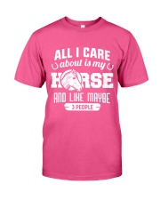 All I Care About Is My Horse Classic T-Shirt tile