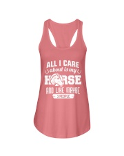 All I Care About Is My Horse Ladies Flowy Tank thumbnail