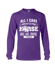 All I Care About Is My Horse Long Sleeve Tee thumbnail