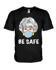 Be Safe GG V-Neck T-Shirt thumbnail