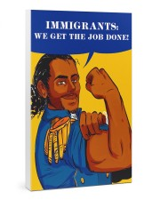 Immigrants 24x36 Gallery Wrapped Canvas Prints thumbnail
