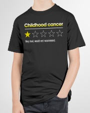 Childhood Cancer Youth T-Shirt garment-youth-tshirt-front-lifestyle-01