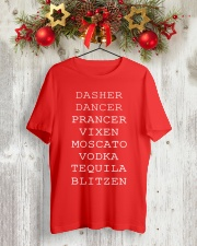 Dasher Dancer Classic T-Shirt lifestyle-holiday-crewneck-front-2