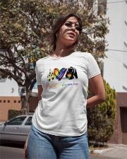 Peace Love Mom Hugs Ladies T-Shirt apparel-ladies-t-shirt-lifestyle-02