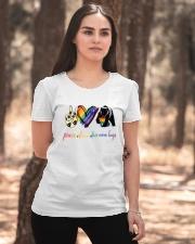 Peace Love Mom Hugs Ladies T-Shirt apparel-ladies-t-shirt-lifestyle-05