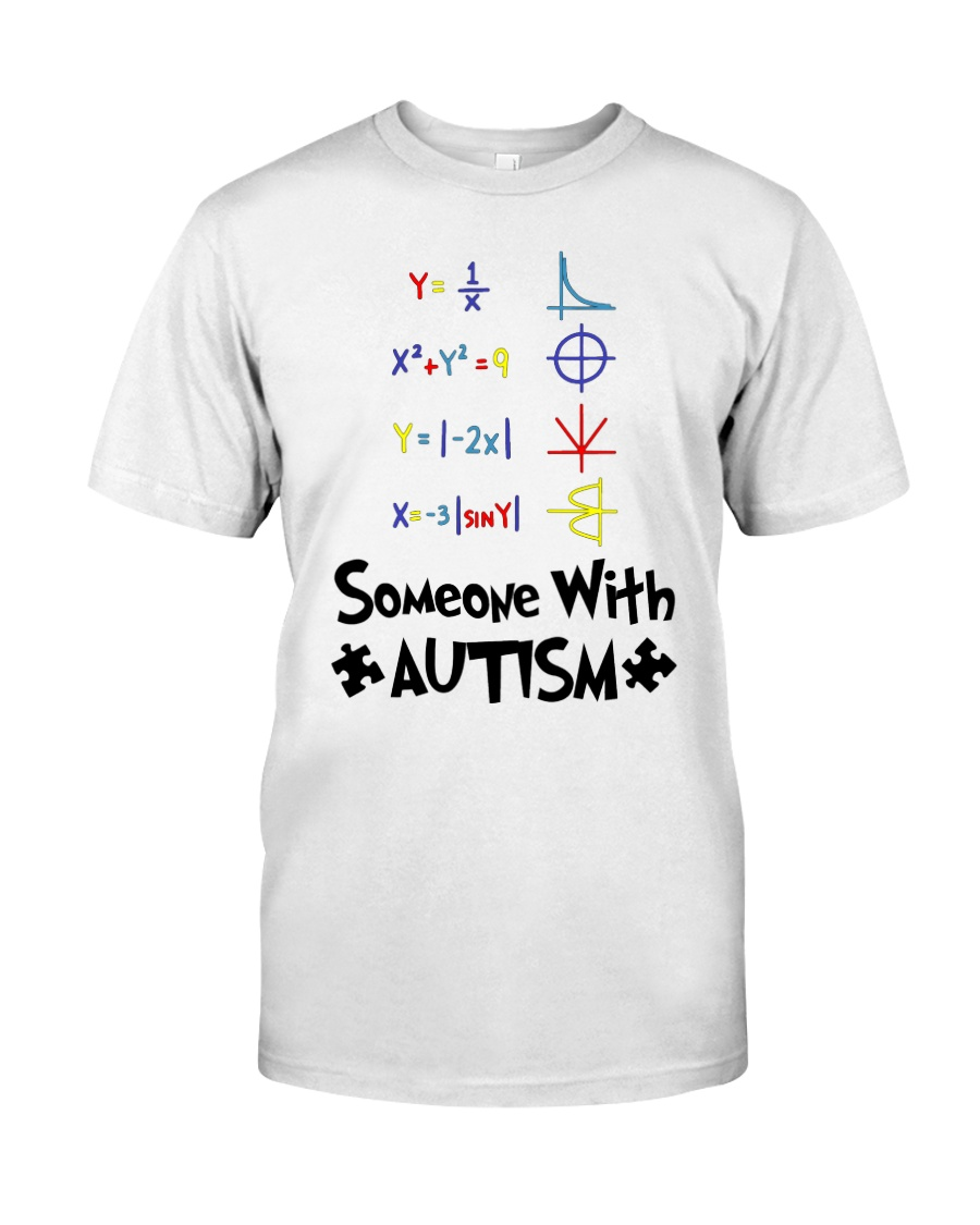 Love Someone With Autism Classic T-Shirt