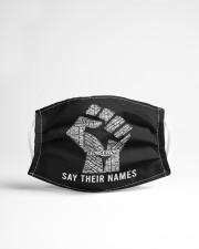 Say Their Names Face Mask Cloth face mask aos-face-mask-lifestyle-22