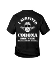 Survived Covid Bike Week Youth T-Shirt thumbnail