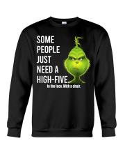 High Five Grinch Crewneck Sweatshirt tile