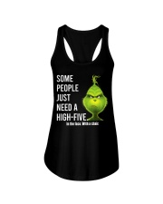 High Five Grinch Ladies Flowy Tank tile