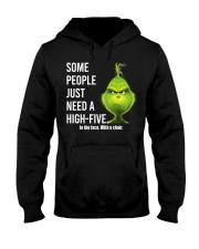 High Five Grinch Hooded Sweatshirt tile