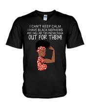 Out For Nephews V-Neck T-Shirt thumbnail