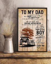 To My Dad Poster 11x17 Poster lifestyle-poster-3