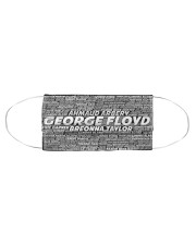 George Floyd Face Mask Cloth face mask aos-face-mask-coverlet-lifestyle-front-01