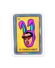 El Conejo Malo Sticker - Single (Vertical) front