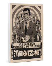 Twilight Zone Poster 24x36 Gallery Wrapped Canvas Prints thumbnail