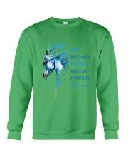 Crazy About Horses Crewneck Sweatshirt thumbnail