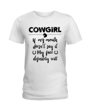 Cowgirl Ladies T-Shirt front