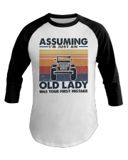 Old Lady Jp Baseball Tee thumbnail